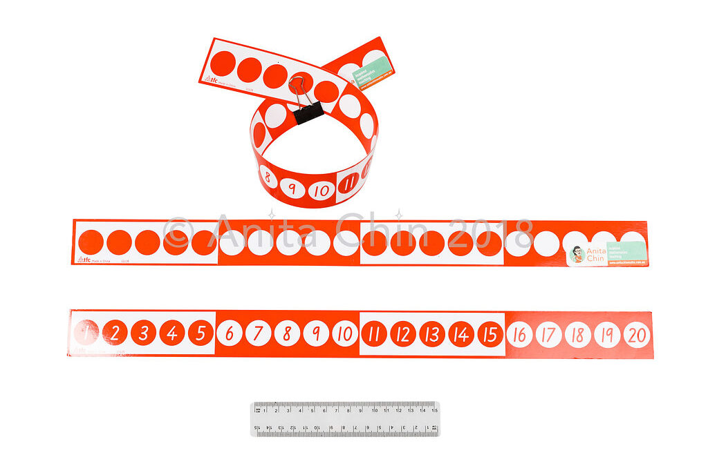 EQUIPMENT | Number Track 1 to 20 (colour coded in groups of 5)