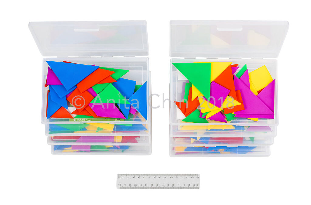 EQUIPMENT | Tangrams: Class Kit (8 boxes of 4 sets)