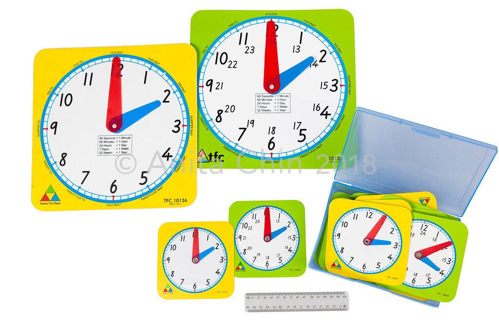 EQUIPMENT | Clock Faces: Class Kit Example