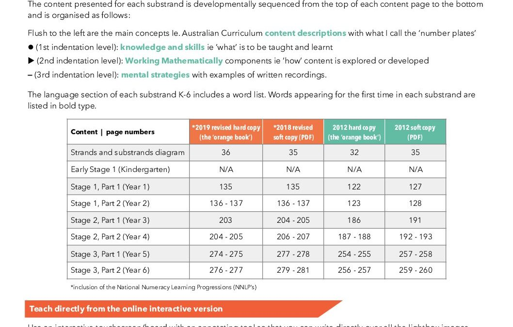 NSW Syllabus for the Australian Curriculum | Page Numbers: Chance, K-6